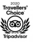Logo : 2020 Travellers' Choice Tripadvisor