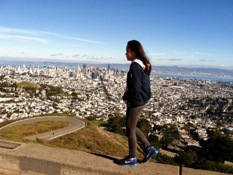 [Photo :  vue depuis Twin Peaks San Francisco]