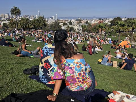 Photo : Dolores Park à San Francisco