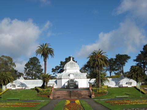 Photo : Conservatory of Flowers dans le Golden Gate Park