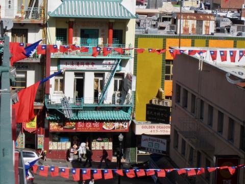 Photo : vue sur Chinatown San Francisco