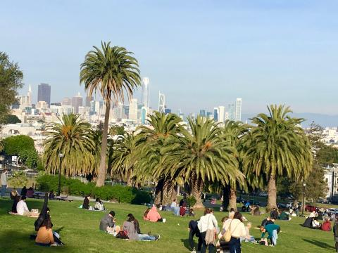 Photo : Dolores Park San Francisco