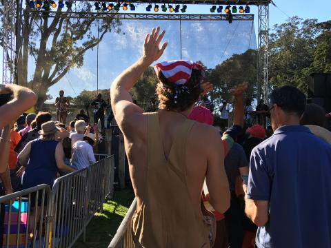 Festival musique live à San Francisco